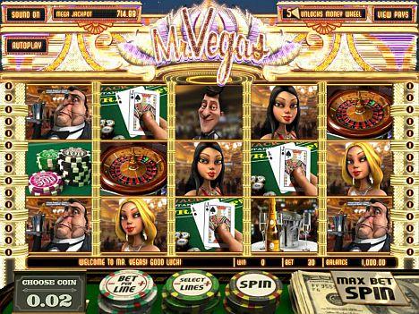 Mr. Vegas Spielautomat