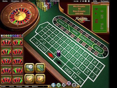 Roulette Multiball von Novoline