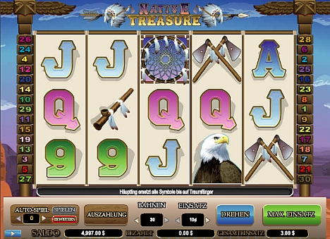 Native Treasure spielen