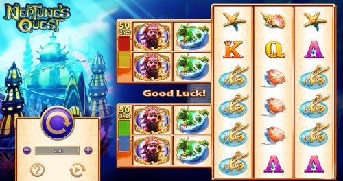 Neptune's Quest Slot Vorschau