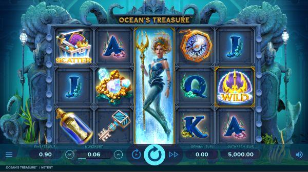 Ocean's Treasure Slot Vorschau