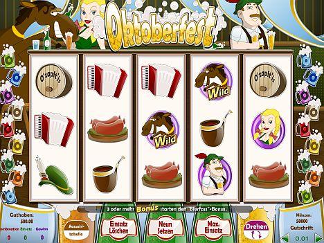 Oktoberfest Spielautomat