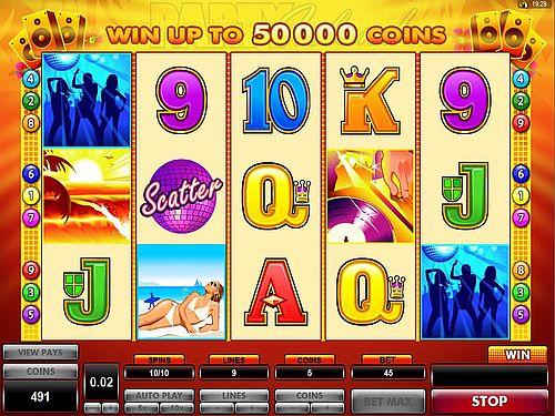 online casino beach party spiele