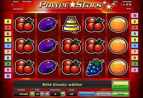 Power Stars kostenlos online spielen