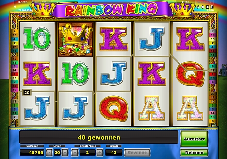 Rainbow King Novoline - jetzt testen