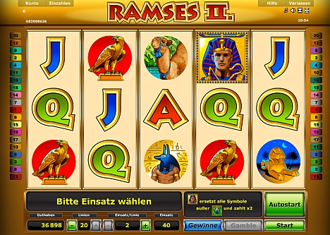 Ramses 2 von Novoline
