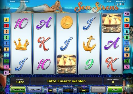 Novoline Spiel Sea Sirens online spielen