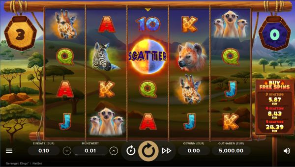 Spiele Serengeti Kings - Video Slots Online