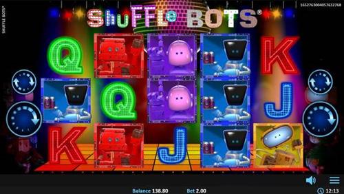 Shuffle Bots Slot Vorschau