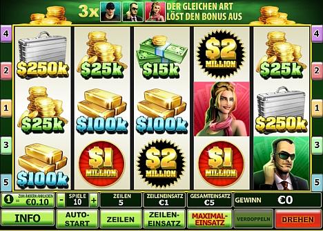 Spin 2 Millions gratis bei Eurogrand