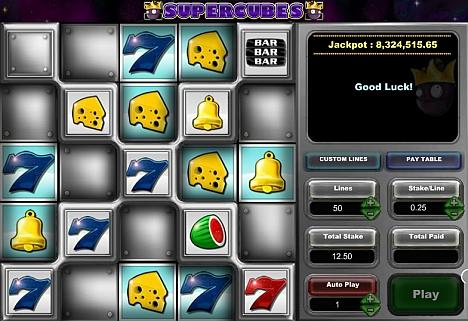 Supercubes - jetzt online spielen