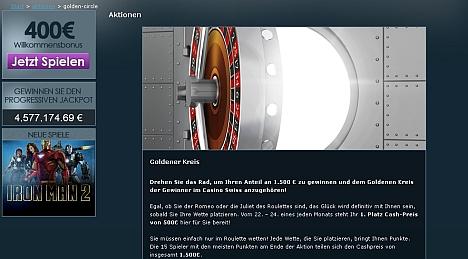 Goldener Kreis im Swiss Casino