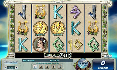 Thunderin Zeus Online Slot
