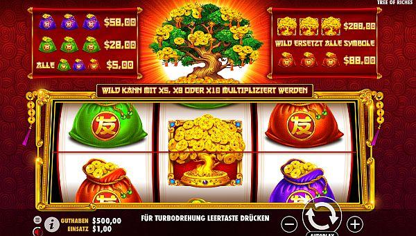Tree of Riches Slot Vorschau