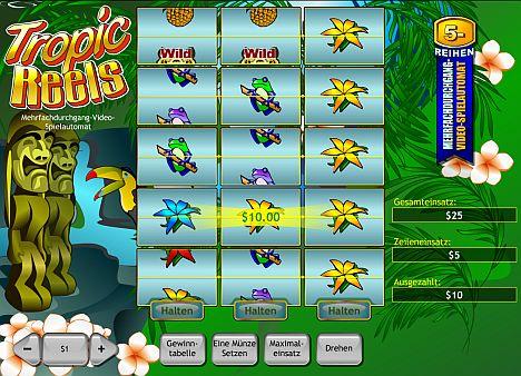 Tropic Reels online spielen