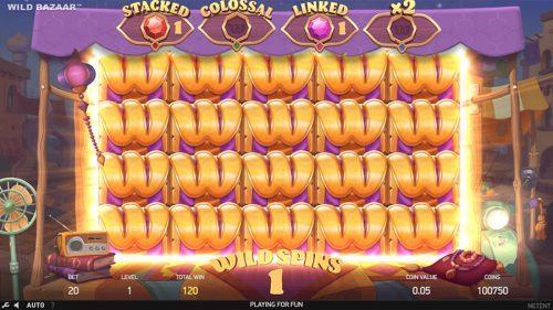 Wild Bazaar von NetEnt spielen