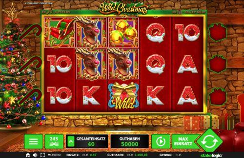 Wild Christmas Slot Vorschau