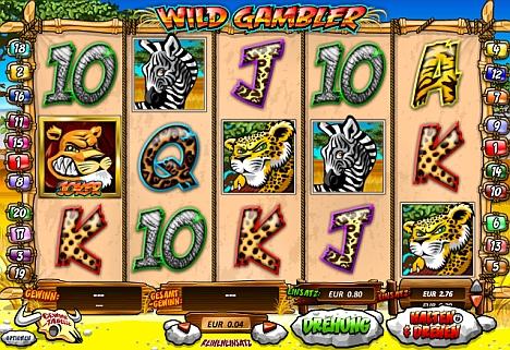 Wild Gambler kostenlos spielen
