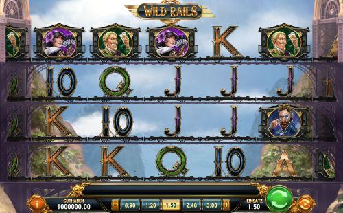 Wild Rails Slot Vorschau