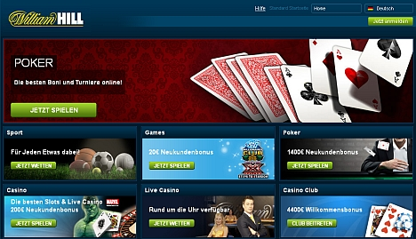 William Hill Casino Rubriken