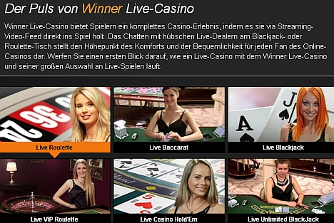 Winner Live Dealer Casino